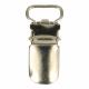 Babyclip  10 mm zilverkleur